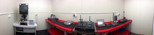 Centreless Grinding Inspection Facility