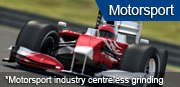 Motorsport industry centreless grinding